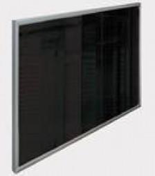 Infrarotheizung Frontglas Schwarz 900 Watt