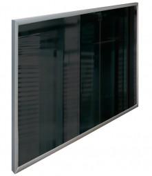 Infrarotheizung Frontglas Schwarz 500 Watt